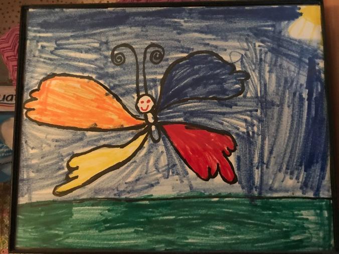 Xaria's flying